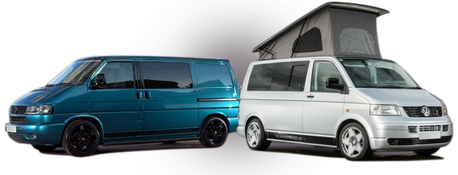 Sales, conversions, servicing and repairs of Volkswagen T4 and T5 campers and vans