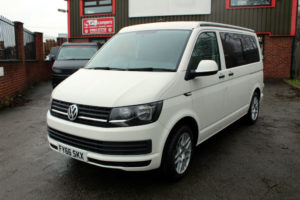 volkswagen T6 campervan 2016 102bhp 4 berth drivelodge roof and rib bed 1 owner