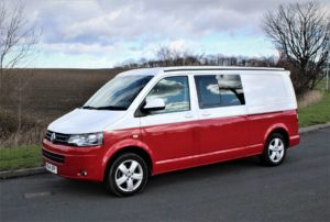 VW T5 4 BERTH CAMPERVAN LWB 2014